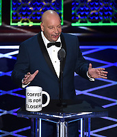 "BEVERLY HILLS - SEPTEMBER 7: Jeff Ross appears onstage at the ""Comedy Central Roast of Alec Baldwin"" at the Saban Theatre on September 7, 2019 in Beverly Hills, California. (Photo by Frank Micelotta/PictureGroup)"