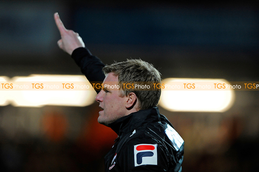 AFC Bournemouth Manager Eddie Howe points the way - AFC Bournemouth vs Yeovil Town - Sky Bet Championship Football at the Goldsands Stadium, Bournemouth, Dorset - 26/12/13 - MANDATORY CREDIT: Denis Murphy/TGSPHOTO - Self billing applies where appropriate - 0845 094 6026 - contact@tgsphoto.co.uk - NO UNPAID USE