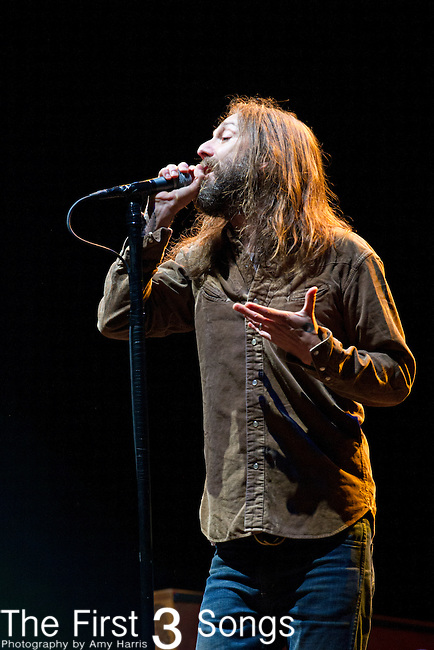 Chris Robinson of The Black Crowes performs during the The Beale Street Music Festival in Memphis, Tennessee.