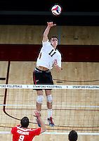 Stanford, CA; Friday March 30, 2013: Men's Volleyball, Stanford vs Cal State Northridge.