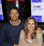 "Days of our Lives cast - James Scott, Crystal Chappell and Galen Gering at a book signing for ""Days Of Our Lives: A celebration in Photos - 45 years"" on February 25, 2011 at the NBC Experience Store, Rockefeller Center, New York City, New York. (Photo by Sue Coflin/Max Photos)"