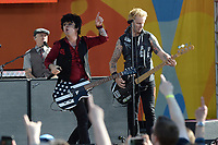 www.acepixs.com<br /> May 19, 2017 New York City<br /> <br /> Mike Dirnt, Billie Joe Armstrong of Green Day performing on Good Morning America Central Park on May 19, 2017 in New York City.<br /> <br /> Credit: Kristin Callahan/ACE Pictures<br /> <br /> Tel: 646 769 0430<br /> e-mail: info@acepixs.com
