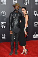 Gary Clark Jr. &amp; Nicole Trunfio at the world premiere for &quot;Justice League&quot; at The Dolby Theatre, Hollywood. Los Angeles, USA 13 November  2017<br /> Picture: Paul Smith/Featureflash/SilverHub 0208 004 5359 sales@silverhubmedia.com