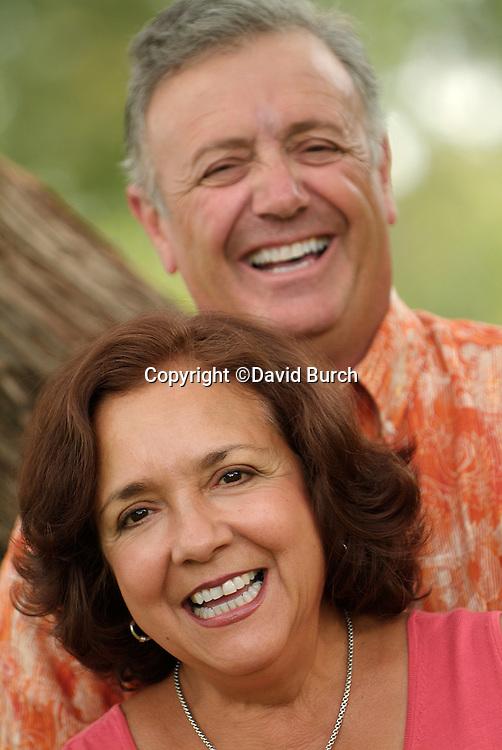 Happy hispanic couple