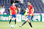 Spain's Sergio Busquets during friendly match. June 1,2016.(ALTERPHOTOS/Acero)
