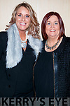 Lisa Martin and Mags Kissane, pictured at the Dunnes Stores and Paul Galvin Shelby Autumn Winter Fashion Show held at the Brandon Hotel, Tralee on Friday night last.