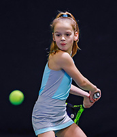Hilversum, Netherlands, December 3, 2017, Winter Youth Circuit Masters, 12,14,and 16 years, Ruth Jonker (NED)<br /> Photo: Tennisimages/Henk Koster