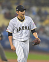 Tomoyuki Sugano (JPN),<br /> MARCH 21, 2017 - WBC :<br /> Japan's starting pitcher Tomoyuki Sugano during the 2017 World Baseball Classic Semifinal game between United States 2-1 Japan at Dodger Stadium in Los Angeles, California, United States. (Photo by AFLO)