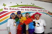 ATENÇÃO EDITOR: FOTO EMBARGADA PARA VEÍCULOS INTERNACIONAIS. - SAO PAULO, SP, 30 DE MAIO 2013 - 13ª Feira LGBT no Vale do Anhangabaú em SP - na foto a Secretária de Justiça de SP Eloisa Sousa Arruda, acontece hoje até as 22 horas a 13ª Feira LGBT no Vale do Anhangabaú, a feira cultural tem diversas atividades, alem de shows e comidas.<br />(FOTO: PADUARDO / BRAZIL PHOTO PRESS).
