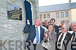 CYMS: Minister John ODonoghue cuts the tape to officially open the CYMS in Killorglin..