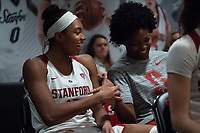 Stanford, Ca - February 2, 2019: The Stanford Cardinal defeats the visiting University of California Berkeley Bears 75-50 during conference play at Maples Pavilion on Saturday, February 2, 2019.