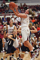STANFORD, CA - NOVEMBER 1:  Mikaela Ruef of the Stanford Cardinal during Stanford's 107-49 win over Vanguard on November 8, 2009 at Maples Pavilion in Stanford, California.
