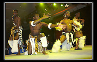 African Dancers - Nortel, Berlin - 31st January 2005