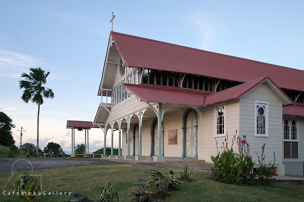 Our Lady of Montserrat Church, Tortuga Central Trinidad