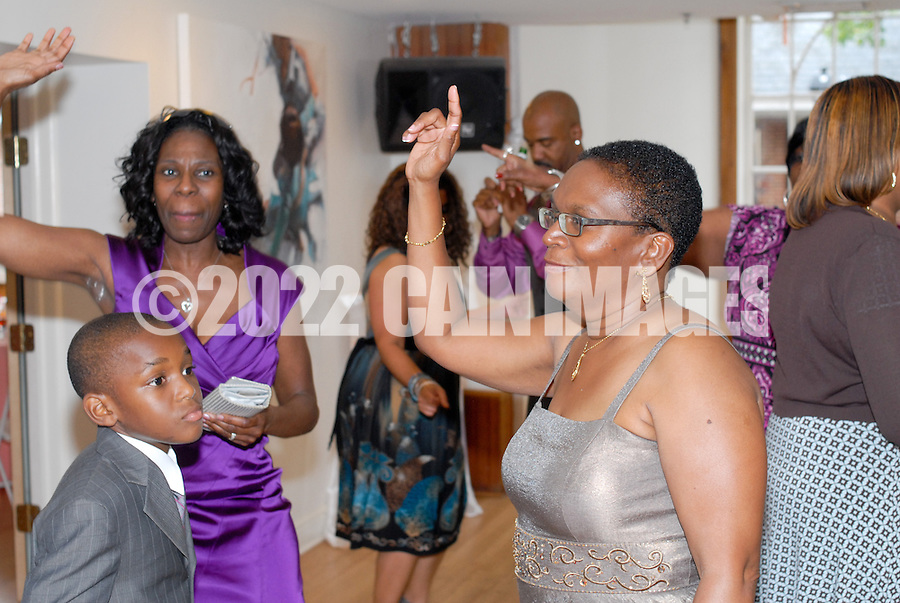 PHILADELPHIA, PA: - JUNE 18:  Tivona & Allen - Society Hill Dance Academy - June 18, 2011 in Philadelphia, Pennsylvania.  (Photo by William Thomas Cain/Cain Images Wedding Photojournalism)