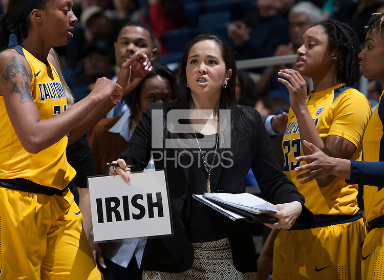 Berkeley, CA - February 3rd 2017:  CAL Women's Basketball's 80-77 victory against UCLA at Haas Pavilion.