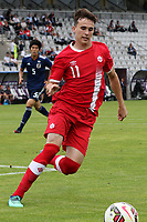 Liam Millar of Liverpool and Canada U21's in action  during Japan Under-21 vs Canada Under-21, Tournoi Maurice Revello Football at Stade Parsemain on 3rd June 2018