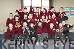 VARIETY SCHOOL: The students of Holy Family NS, Tralee having a great at McCormack & Corvenieo Variety Show at their school on Friday.