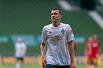 Maximilian Eggestein (Werder Bremen #35)<br /> <br /> <br /> Sport: nphgm001: Fussball: 1. Bundesliga: Saison 19/20: 34. Spieltag: SV Werder Bremen vs 1.FC Koeln  27.06.2020<br /> <br /> Foto: gumzmedia/nordphoto/POOL <br /> <br /> DFL regulations prohibit any use of photographs as image sequences and/or quasi-video.<br /> EDITORIAL USE ONLY<br /> National and international News-Agencies OUT.