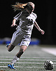 Wantagh No. 13 Julia Fazio looks to gain possession during the Nassau County varsity girls' soccer Class A semifinals against South Side at Cold Spring Harbor High School on Friday, October 30, 2015.<br /> <br /> James Escher