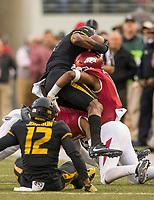 Hawgs Illustrated/BEN GOFF <br /> Arkansas vs Missouri Friday, Nov. 24, 2017, at Reynolds Razorback Stadium in Fayetteville.