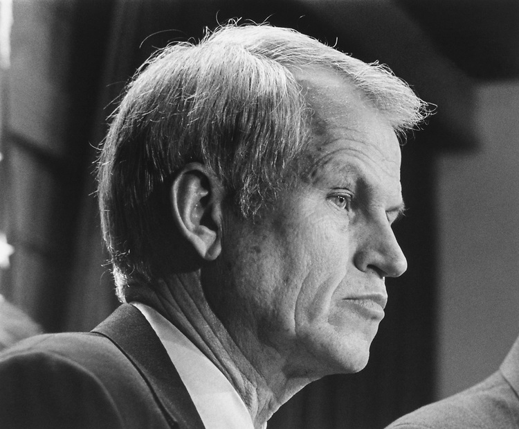 Rep. Charles Stenholm, D-Tex., on April 11, 1994. (Photo by Maureen Keating/CQ Roll Call)