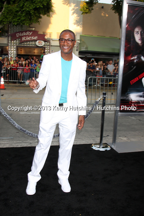 "LOS ANGELES - AUG 26:  Tommy Davidson at the ""Getaway"" Premiere at the Village Theater on August 26, 2013 in Westwood, CA"
