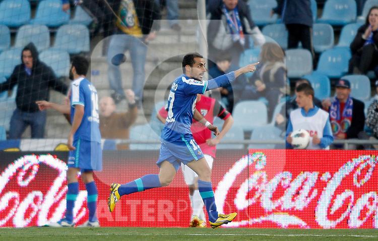 Getafe's Diego Castro during La Liga Match. March 03, 2012. (ALTERPHOTOS/Alvaro Hernandez)