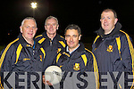 Crokes trainer Harry O'Neill with his selectors .