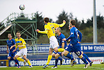 Inverness Caledonian Thistle v St Johnstone...27.10.12      SPL.David Robertson heads home a late equaliser.Picture by Graeme Hart..Copyright Perthshire Picture Agency.Tel: 01738 623350  Mobile: 07990 594431