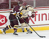 Pernilla Winberg (UMD - 51), Blake Bolden (BC - 10) - The visiting University of Minnesota Duluth Bulldogs defeated the Boston College Eagles 3-2 on Thursday, October 25, 2012, at Kelley Rink in Conte Forum in Chestnut Hill, Massachusetts.