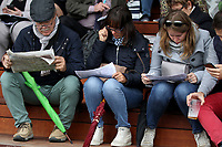October 07, 2018, Longchamp, FRANCE - Visitors at ParisLongchamp Race Course  [Copyright (c) Sandra Scherning/Eclipse Sportswire)]