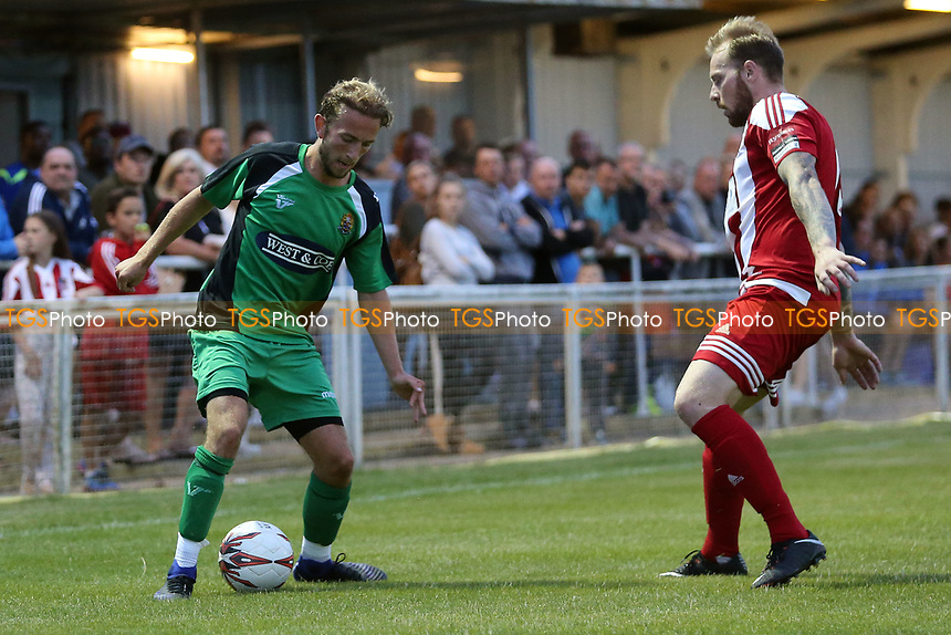 Robbie Rees of Dagenham during Bowers & Pitsea vs Dagenham & Redbridge, Friendly Match Football at The Len Salmon Stadium on 18th July 2017