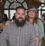 Philip and Amber MCPherson during the Kentucky Derby Party at The Depot on Saturday, May 6, 2017 in Reno, Nevada.