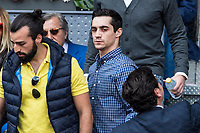 Javier Fernandez during the ATP final of Mutua Madrid Open Tennis 2017 at Caja Magica in Madrid, May 14, 2017. Spain. /NortePhoto.com