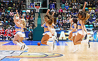 Fraport Skyliners Dance Team - 09.12.2017: Fraport Skyliners vs. Eisbären Bremerhaven, Fraport Arena Frankfurt