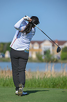 Jane Park (USA) watches her tee shot on 9 during round 1 of  the Volunteers of America LPGA Texas Classic, at the Old American Golf Club in The Colony, Texas, USA. 5/5/2018.<br /> Picture: Golffile | Ken Murray<br /> <br /> <br /> All photo usage must carry mandatory copyright credit (&copy; Golffile | Ken Murray)