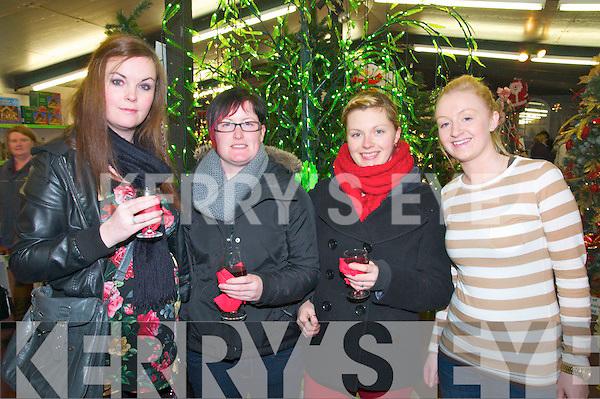 Listowel Garden Centre: Attending the pre Christmas party at  Listowel Garden centre on the 5th December were Trish O'Reilly, Brednda Hayes, Natasha Looney & Mairead Roberts.