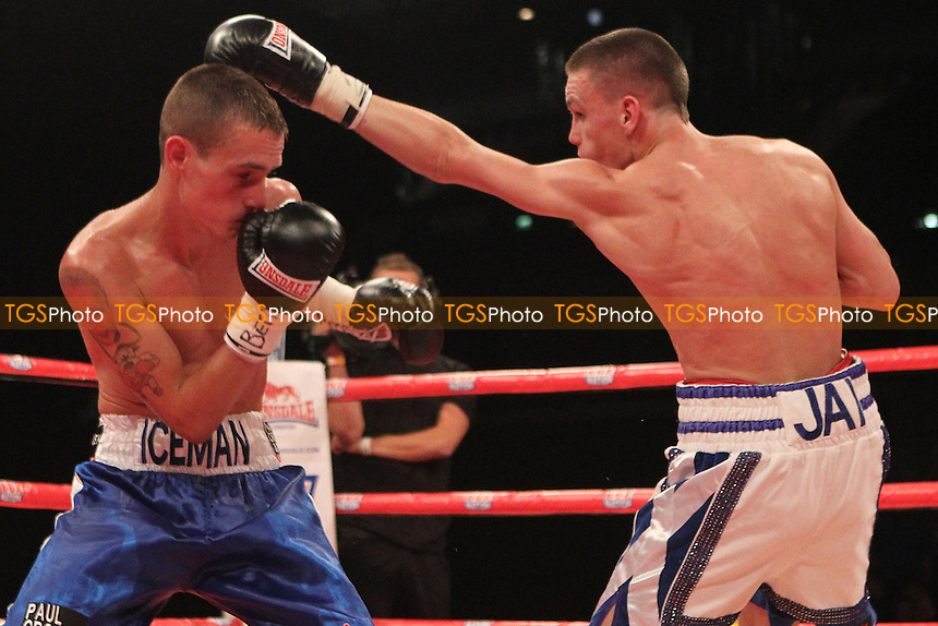Kevin Satchell vs Iain Butcher in a boxing contest at the Echo Arena, Liverpool, promoted by Frank Maloney - 06/07/13 - MANDATORY CREDIT: Chris Royle/TGSPHOTO - Self billing applies where appropriate - 0845 094 6026 - contact@tgsphoto.co.uk - NO UNPAID USE