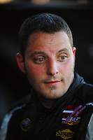 Apr 11, 2008; Avondale, AZ, USA; NASCAR Sprint Cup Series driver Johnny Sauter during practice for the Subway Fresh Fit 500 at Phoenix International Raceway. Mandatory Credit: Mark J. Rebilas-