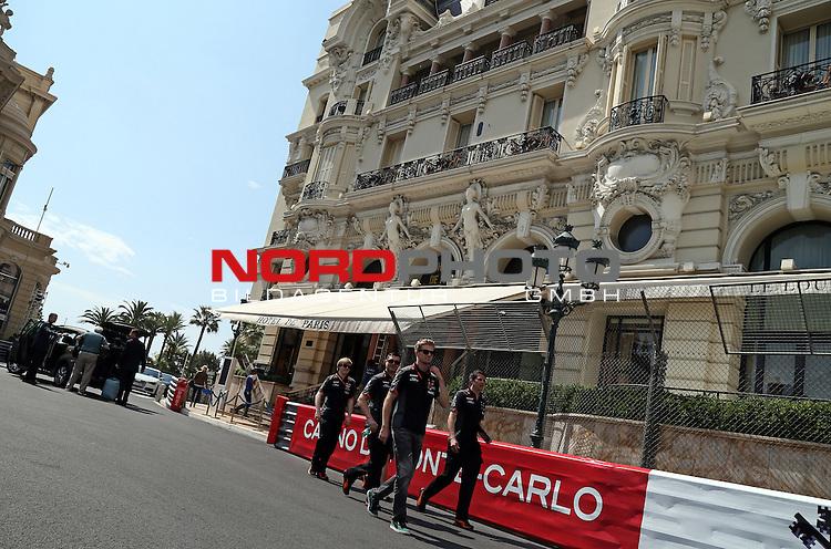 23. bis 25.05.2015, Circuit de Monaco, Monte Carlo, MCO, Gro&szlig;er Preis von Monaco, Monte Carlo, im Bild   Nico Huelkenberg (GER), Force India Formula One Team<br />  Foto &copy; nph / Mathis