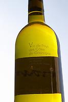 Bottle of Aramis Vin de Pays des Cotes de Gascogne Madiran France