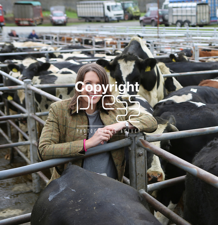 30/8/2014   Alison Hunt, manager, Cashel Mart where working can have its danger.<br /> Picture: Liam Burke/Press 22