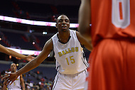 March 11, 2013  (Washington, DC)  Brandon Boykin #15, of the Ballou Knights, during the inaugural D.C. State Athletics Championship at the Verizon Center March 11, 2013. Coolidge won 69-47.  (Photo by Don Baxter/Media Images International)