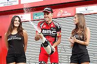 Philippe Gilbert celebrates the victory in the stage of La Vuelta 2012 beetwen Penafiel-La Lastrilla.September 7,2012. (ALTERPHOTOS/Acero) /NortePhoto.com<br /> <br /> **CREDITO*OBLIGATORIO** *No*Venta*A*Terceros*<br /> *No*Sale*So*third* ***No*Se*Permite*Hacer Archivo***No*Sale*So*third