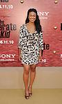 "WESTWOOD, CA. - June 07: Tatyana Ali arrives at ""The Karate Kid"" Los Angeles Premiere at Mann Village Theatre on June 7, 2010 in Westwood, California."