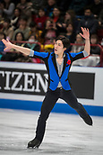 24th March 2018, Mediolanum Forum, Milan, Italy;  Keiji TANAKA (JPN) during the ISU World Figure Skating Championships, Men Free Skating at Mediolanum Forum in Milan, Italy
