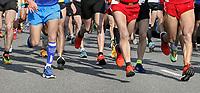 Nederland  Rotterdam  2017 04 09.  De Marathon van Rotterdam.  Berlinda van Dam / Hollandse Hoogte
