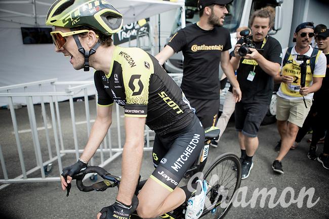 Simon Yates (GBR/Mitchelton-Scott) wins stage 12<br /> <br /> Stage 12: Toulouse to Bagnères-de-Bigorre(202km)<br /> 106th Tour de France 2019 (2.UWT)<br /> <br /> ©kramon