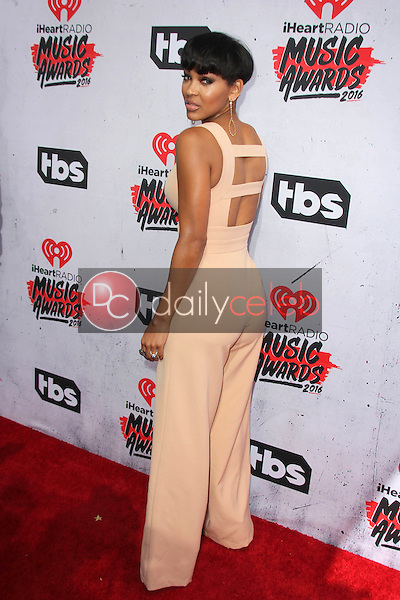 Meagan Good<br /> at the iHeart Radio Music Awards 2016 Arrivals, The Forum, Inglewood, CA 04-03-16<br /> David Edwards/DailyCeleb.com 818-249-4998